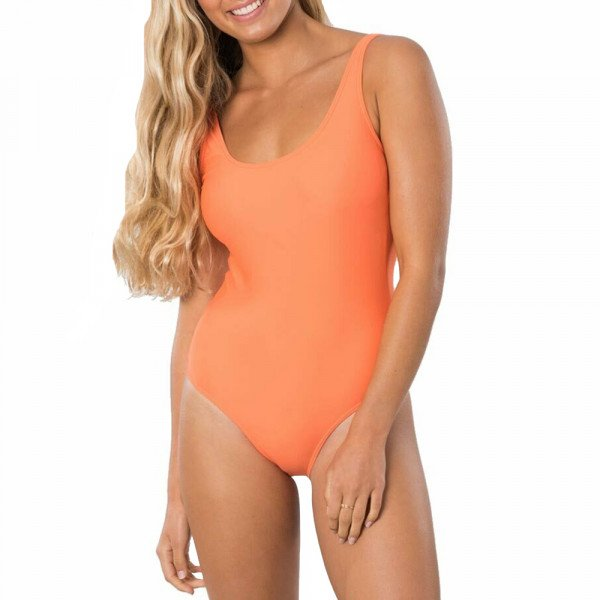 RIP CURL SWIMSUIT ECO SURF ONE PIECE BRIGHT RED