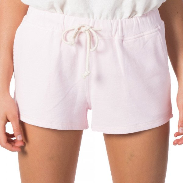 RIP CURL SHORTS ORGANIC FLEECE LILAC