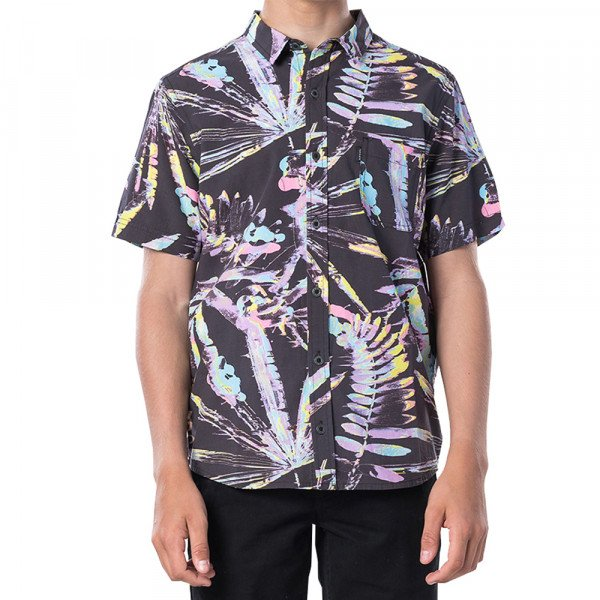 RIP CURL KREKLS GLITCH SS BOY BLACK