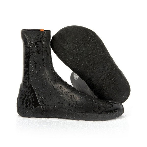 RIP CURL SURF BOOTS RUBBER SOUL PLUS 3 MM SPLIT TOE BLACK