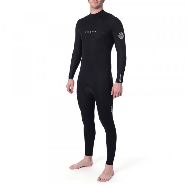 RIP CURL WETSUIT DAWN PATROL 32 GB BACK ZIP BLACK