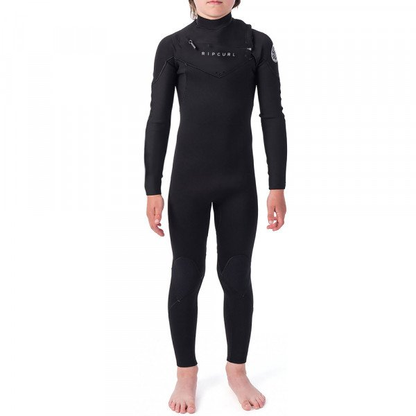 RIP CURL HIDROTĒRPS JNR DAWN PATROL 32 GB CHEST ZIP BLACK