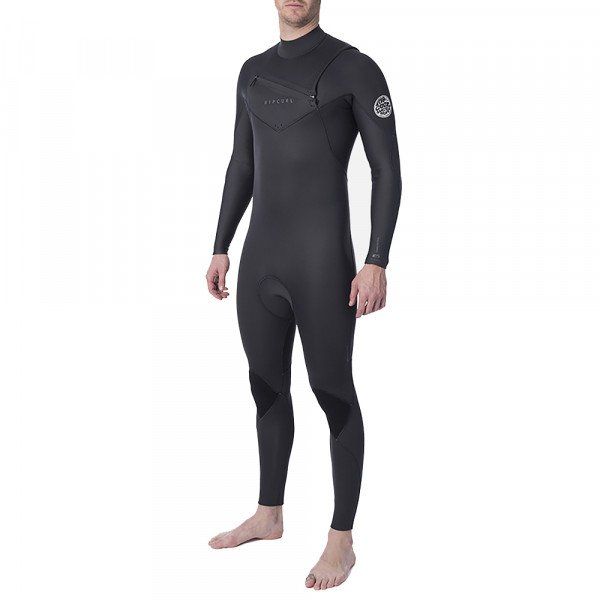 RIP CURL WETSUIT DAWN PATROL PERF CHEST ZIP 32 GB CHARCOAL GREY