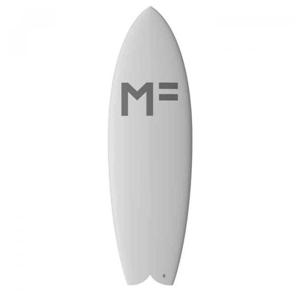 MICK FANNING SURF DĒLIS CATFISH WHITE 5'10