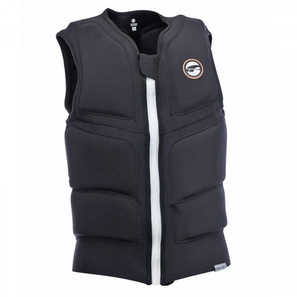PROLIMIT VESTE STRETCH VEST FULL PADED FZ BLACK WHITE