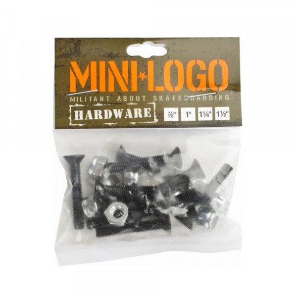 MINI LOGO NUTS/BOLTS 1