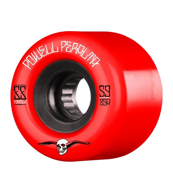 POWELL PERALTA WHEELS G-SLIDES 56MM 85A RED