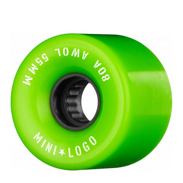 MINI LOGO WHELS A.W.O.L. 55 MM 80A GREEN