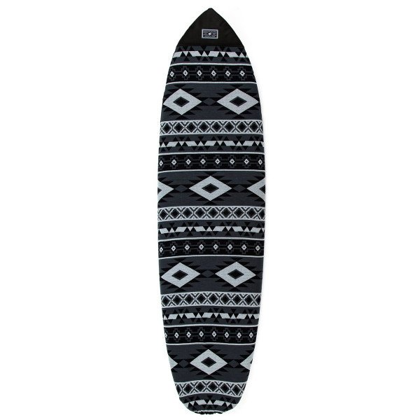 CREATURES ČEHOLS 6'0'' FISH AZTEC SOX GREY CHARCOAL