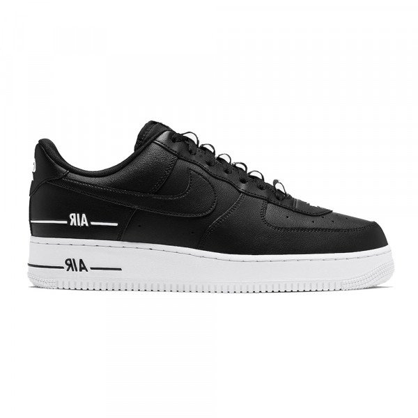 NIKE APAVI AIR FORCE 1 07 LV8 3 BLACK WHITE BLACK