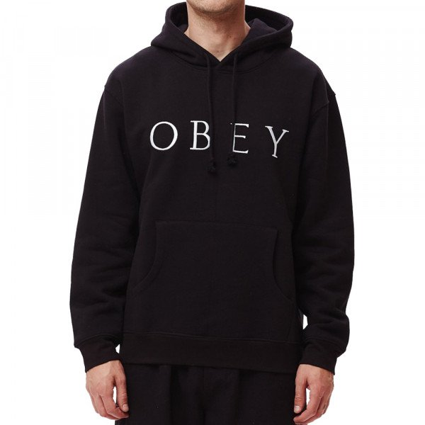OBEY HOOD IDEALS SUSTAINABLE BLK