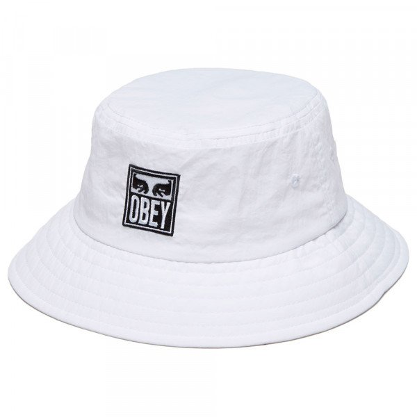 OBEY CEPURE ICON EYES BUCKET WHT