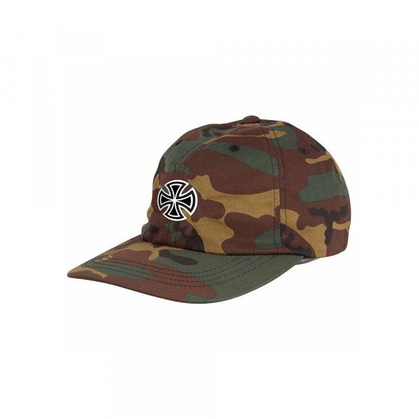 INDEPENDENT CEPURE GSD CROSS STRAPBACK CAMO