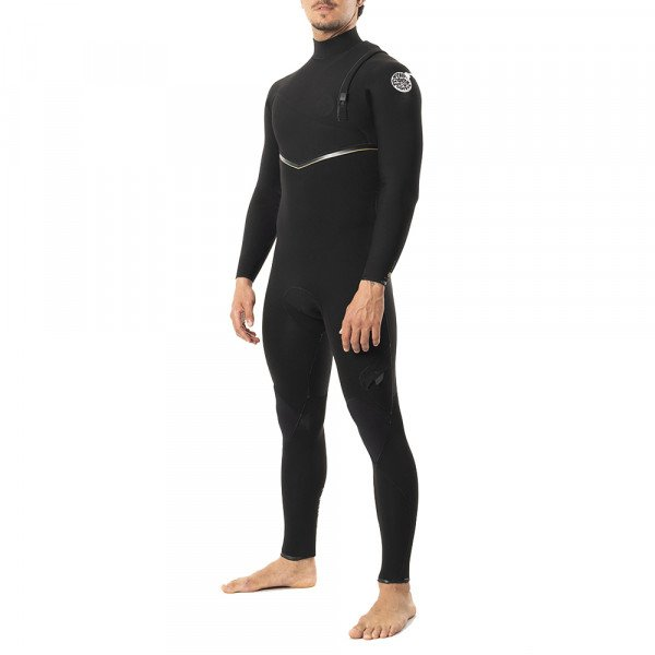 RIP CURL WETSUIT E BOMB LTD 32GB ZIP FREE BLACK