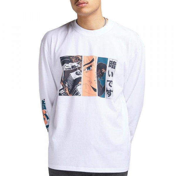 EDWIN LONGSLEEVE APOLLO THOMAS TS WHITE
