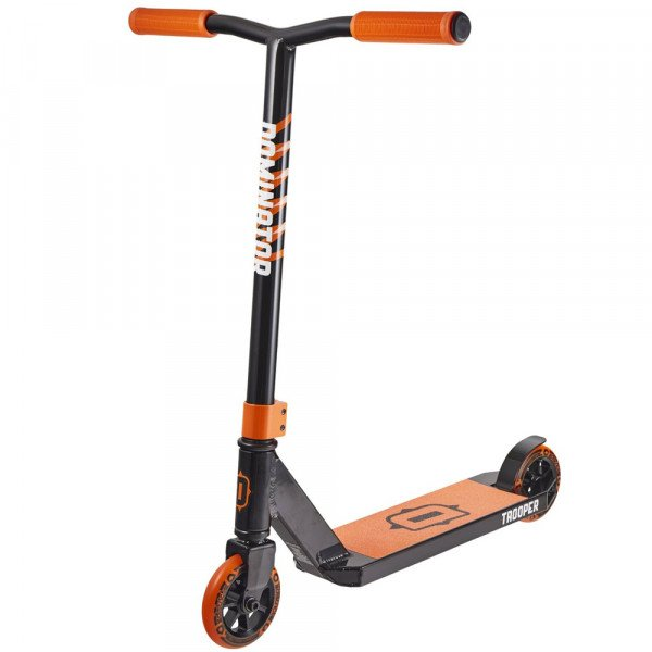 DOMINATOR SCOOTER TROOPER BLACK ORANGE