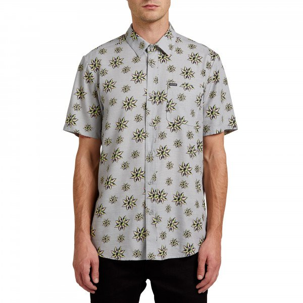 VOLCOM SHIRT BURCH BLOOM SS TWR