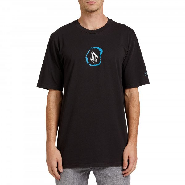 VOLCOM T-SHIRT POSTED SS BLK