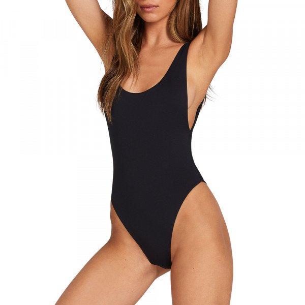 VOLCOM SWIMWEAR SIMPLY SEAMLESS 1PC BLK SU