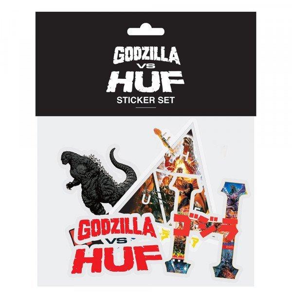 HUF GODZILLA VS HUF STOCKER PACK MULTI