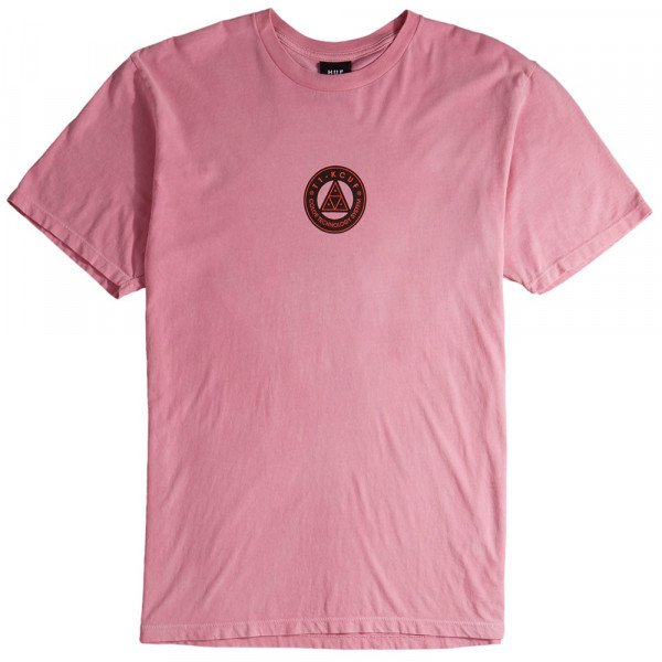HUF T-SHIRT COLOR TECH TT HOT PINK