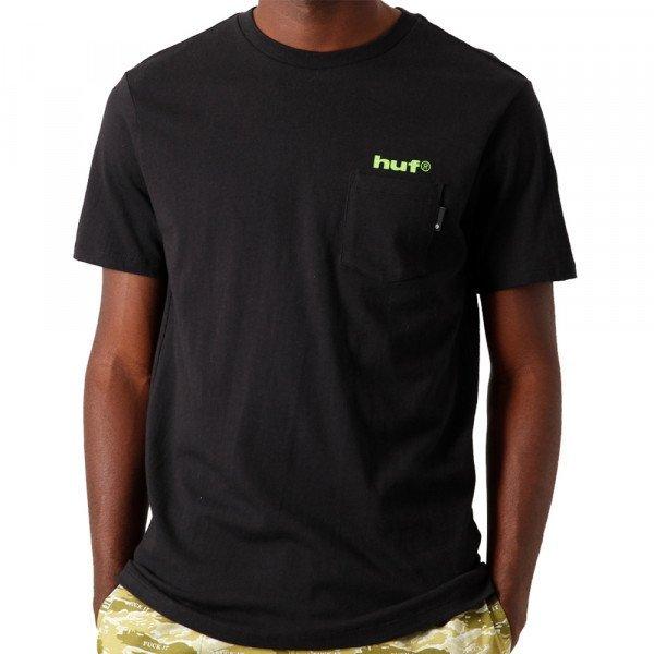 HUF T-SHIRT HUF HYDRANT BLACK