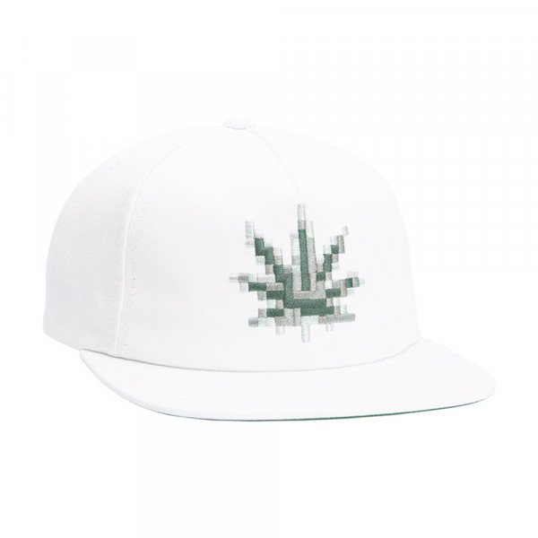 HUF CEPURE CENSORED SNAPBACK WHITE