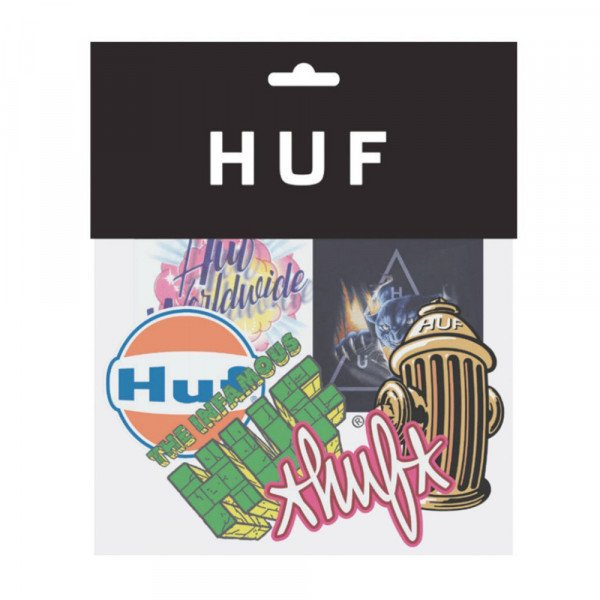 HUF SU20 STICKER SET