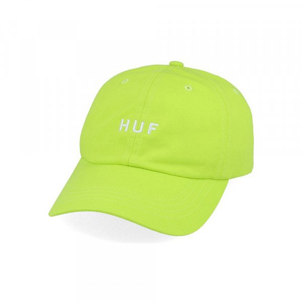 HUF CEPURE ESSENTIALS OG LOGO CV HOT LIME