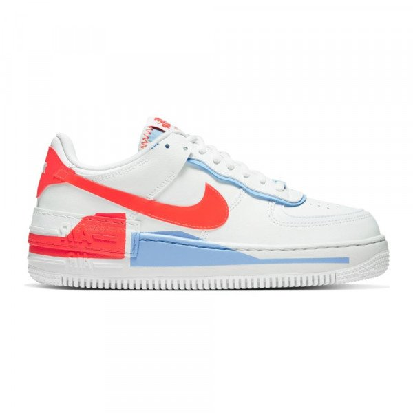 NIKE APAVI AF1 SHADOW SE W SUMMIT WHITE TEAM ORANGE
