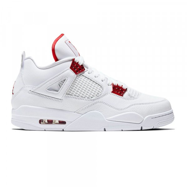 NIKE APAVI AIR JORDAN 4 RETRO SE WHITE METALLIC SILVER