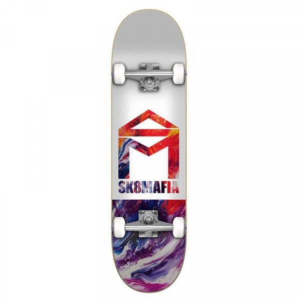 SK8MAFIA COMPLETE HOUSE LOGO OIL LOW 7.5