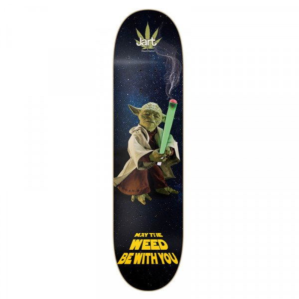 JART DECK WEED NATION YODA 8.375