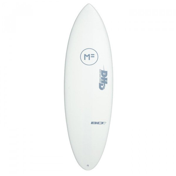 MICK FANNING SURF BOARD DHD BLACK DIAMOND WHITE 6'10