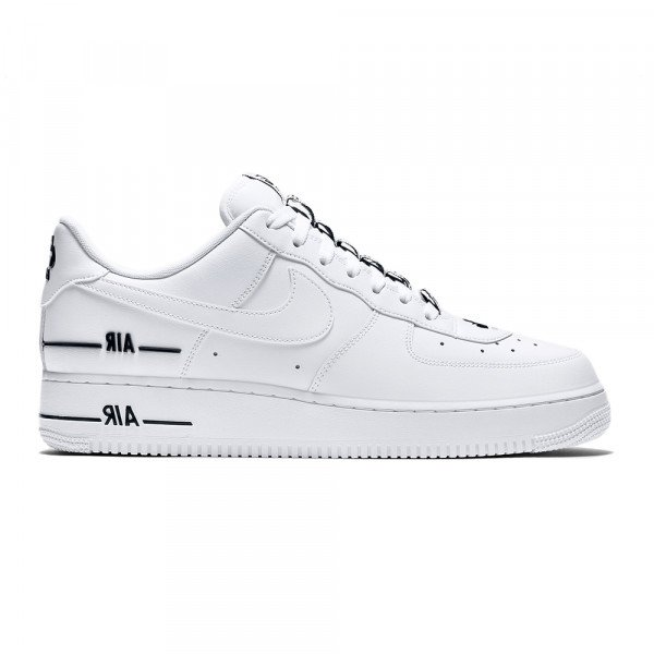 NIKE APAVI AIR FORCE 1 07 LV8 3 WHITE WHITE BLACK