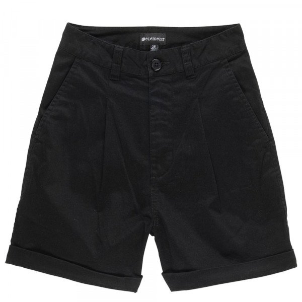 ELEMENT SHORTS OLSEN FLINT BLACK
