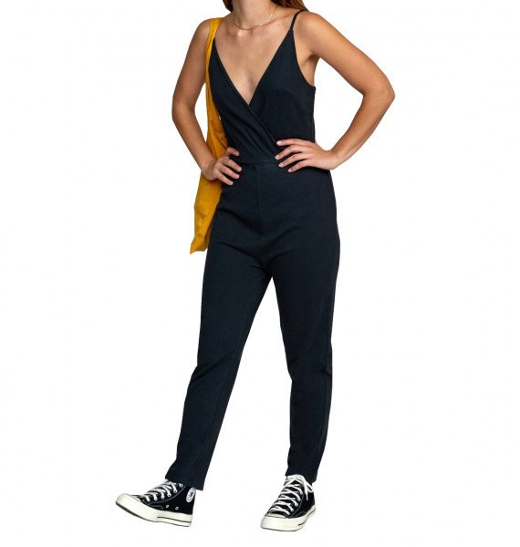 RVCA BIKSES CITRA JUMPSUIT BLACK