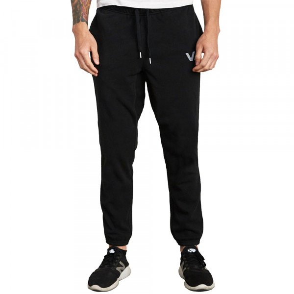 RVCA PANTS SWIFT SWEAT BLACK