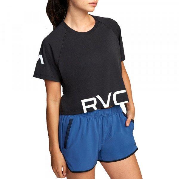 RVCA T-SHIRT VA SS BLACK