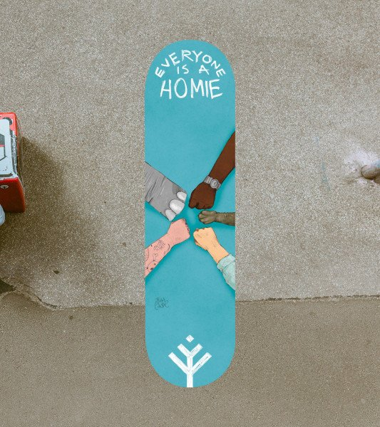 BOARDS.LV DECK EVERYONE HOMIE 8.125