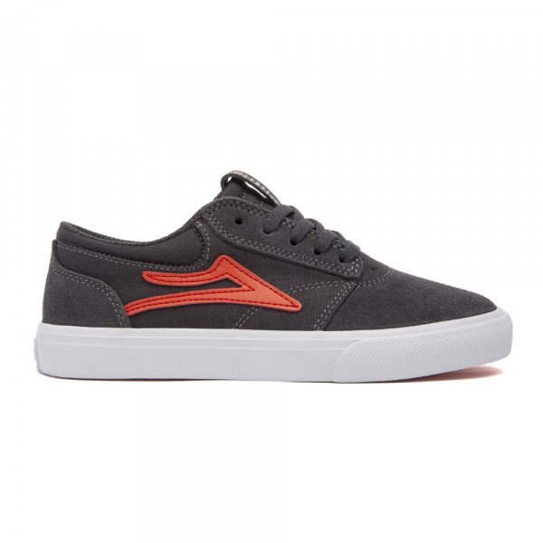 LAKAI APAVI GRIFFIN KIDS CHARCOAL