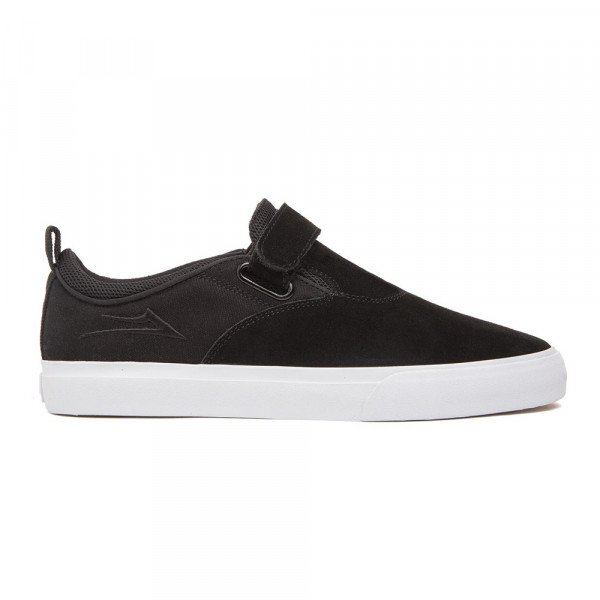 LAKAI SHOES RILEY 2 VS BLACK SUEDE