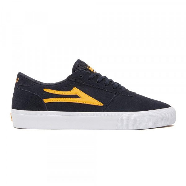 LAKAI APAVI MANCHESTER NAVY ORANGE SUEDE