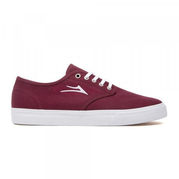 LAKAI APAVI OXFORD BURGUNDY CANVAS
