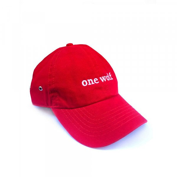 ONE WOLF CEPURE OUTSIDER CAP RED