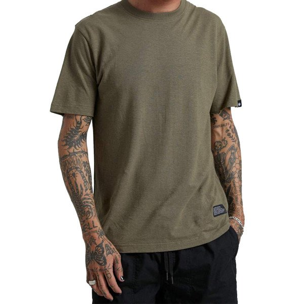 AFENDS T-SHIRT NEW ORDER DARK OLIVE