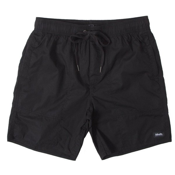 AFENDS SHORTS BAYWATCH CLASSICS BLACK