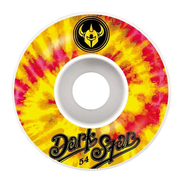 DARKSTAR WHEELS INSIGNIA YELLOW 54 MM