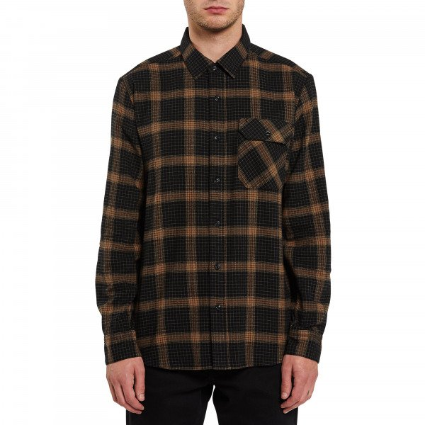VOLCOM SHIRT VOLCOM X GIRL SKATEBOARDS L/S BLK