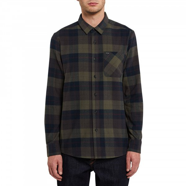 VOLCOM SHIRT CADEN PLAID L/S ARC
